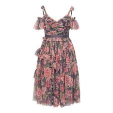 Titania Rose Tulle Dress