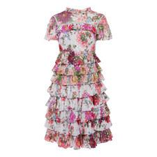 Midsummer Ruffle Dress