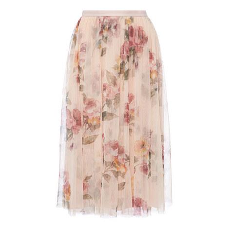 Venetian Midi Skirt, ${color}