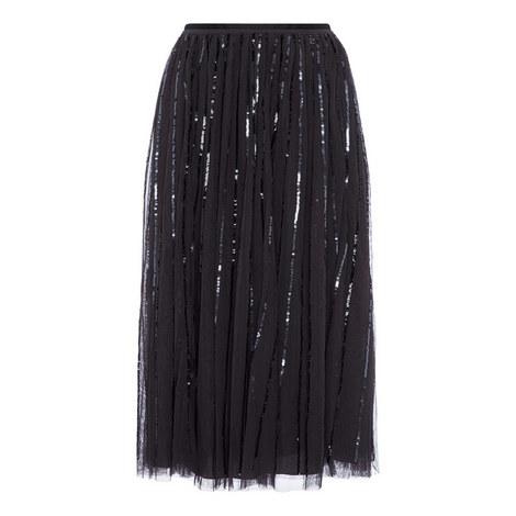 Sequin Midi Skirt, ${color}