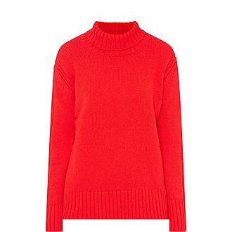 Fintra Roll Neck Sweater