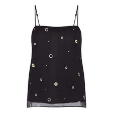 Metallic Embroidery Camisole