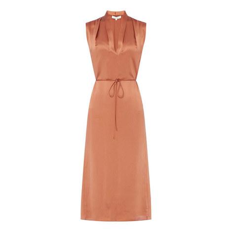 Drape Neck Dress, ${color}