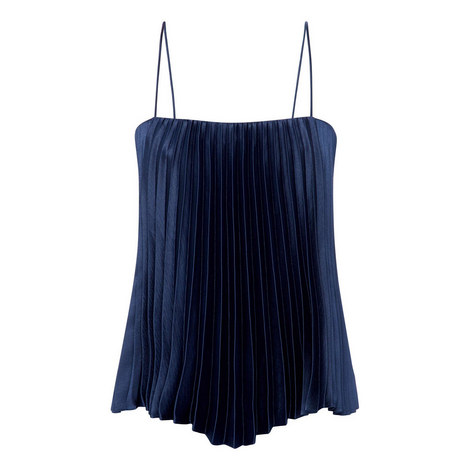 Pleated Camisole Top, ${color}