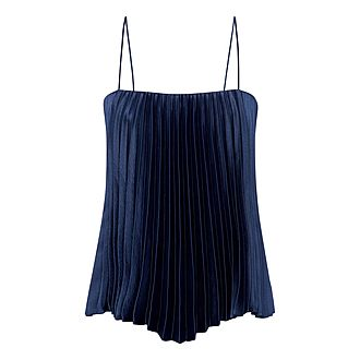 Pleated Camisole Top