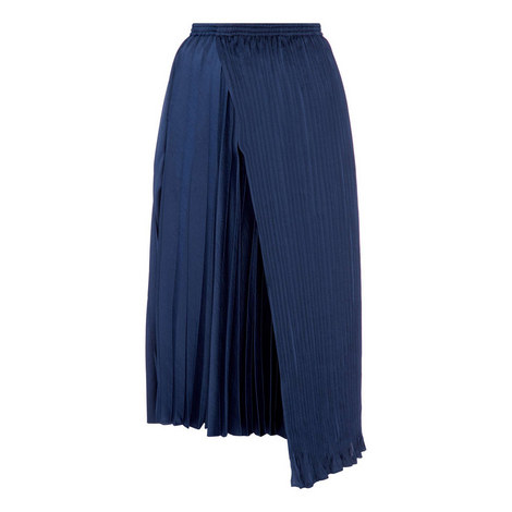 Mixed Pleated Skirt, ${color}