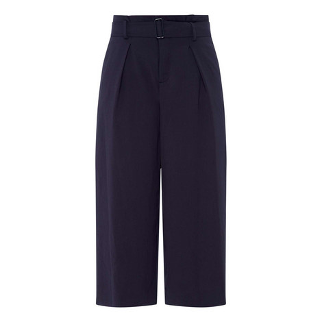 Belted Culotte Trousers, ${color}
