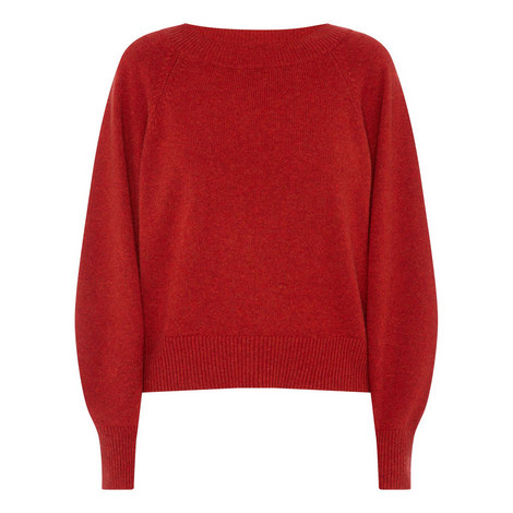 Relaxed Knit Sweater, ${color}