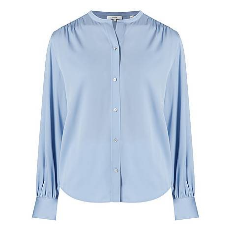 Shirred Back Blouse, ${color}