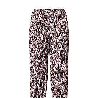 Floral Print Culotte Trousers