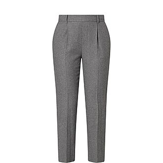 Pull-on Tapered Trousers