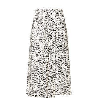 Dot Drape Skirt