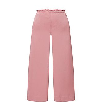 Pull-On Culotte Trousers