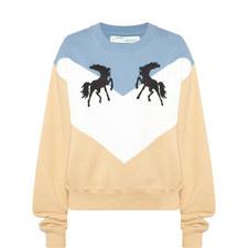 Twisting Horses Sweatshirt