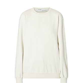 Diagonal Print Sweatshirt