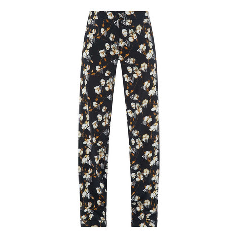 Crêpe Pyjama Trousers, ${color}