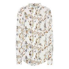 Crêpe Floral Shirt
