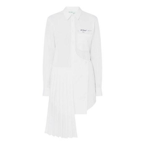 Wrap Panel Shirt Dress, ${color}