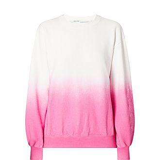 Degrade Oversized Sweatshirt