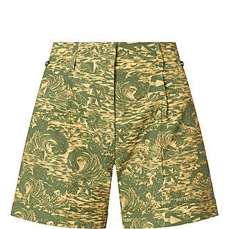 Tropical Ripstop Shorts