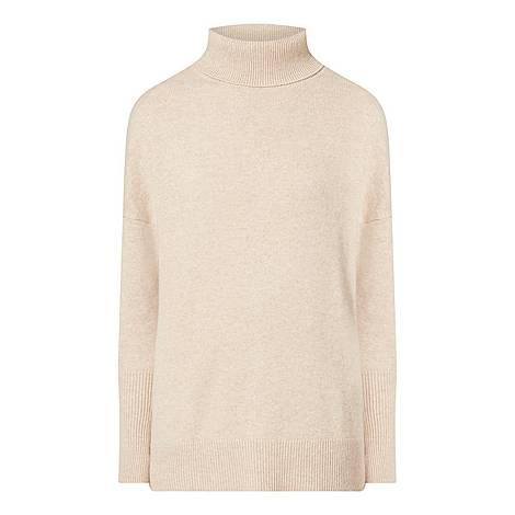 Cashmere Polo Sweater, ${color}