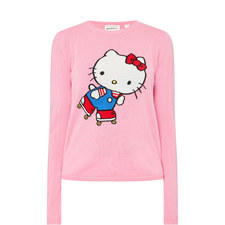 Hello Kitty Roller Cashmere Sweater