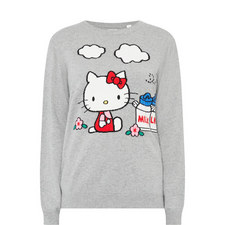 Hello Kitty Farm Cashmere Sweater