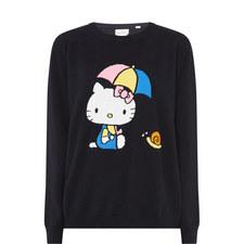 Hello Kitty Umbrella Cashmere Sweater