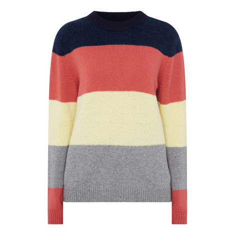 Sombrero Stripe Sweater, ${color}