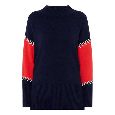 Chevron Stitch Sweater, ${color}
