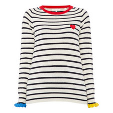 Frill Cuff Sweater