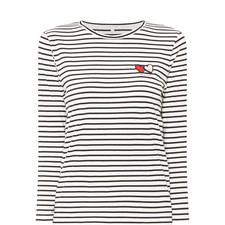 Long Sleeve Twin Heart T-Shirt