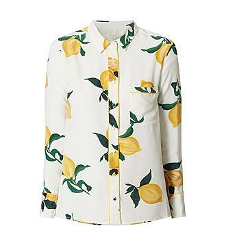 Lemon Print Shirt