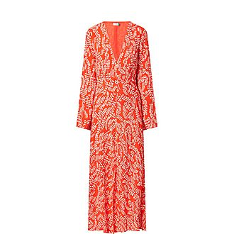 Sonja Root Print Dress