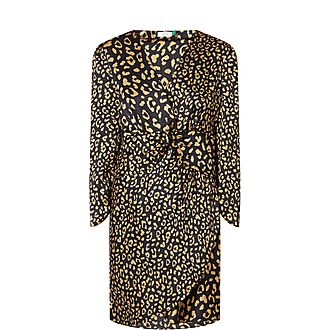 Lilly Leopard Spot Wrap Dress