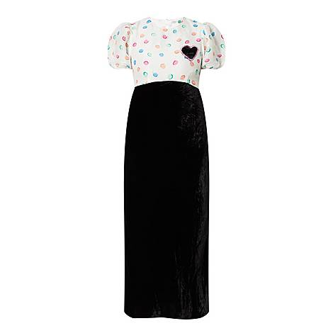 Daisy Watercolour Dress, ${color}
