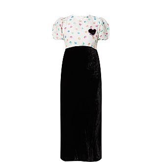 Daisy Watercolour Dress