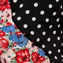 Cherie Pearl Spot Floral Dress, ${color}