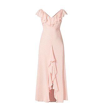 Antoinette Floral Midi Dress
