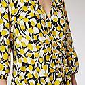 Sam Micro Floral Wrap Dress, ${color}