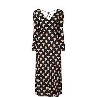 Nora Shell Print Dress