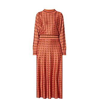Annika Dogstooth Dress