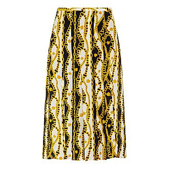 Georgia Chain Print Skirt