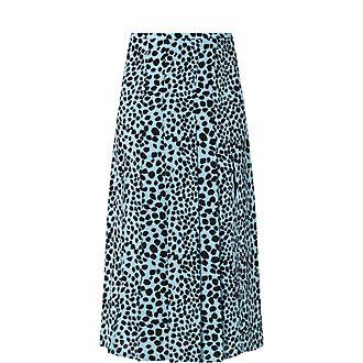 Georgia Leopard Skirt