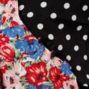 Liz Pearl Spot Floral Top, ${color}