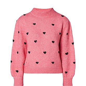 Ariana Heart Sweater