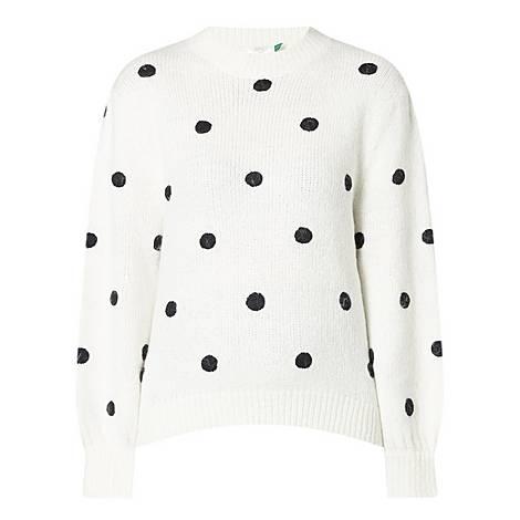 Ariana Polka Dot Sweater, ${color}