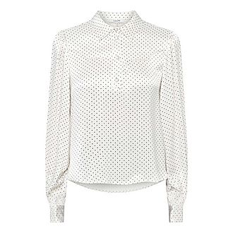 Cameron Dotted Blouse