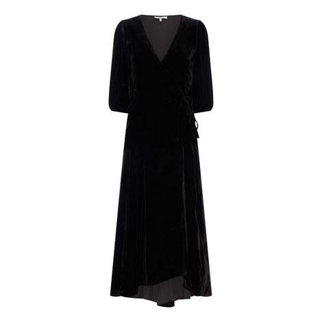 Aldine Velvet Dress, ${color}