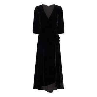 Aldine Velvet Dress
